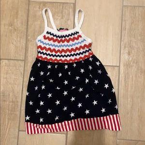 American Flag 3T Dress